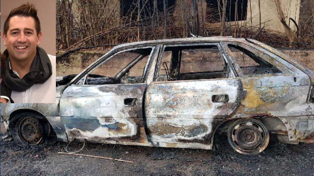 Imprenditore ed ex arbitro scomparso a Tirana. L'auto noleggiata bruciata