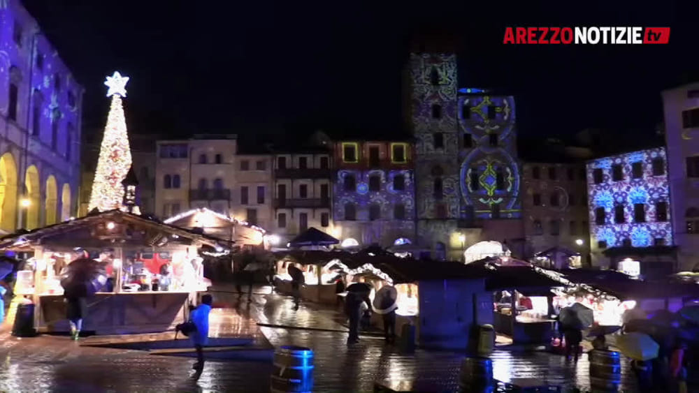 """""""Arezzo, che fascino"""". A spasso per La Città del Natale - ArezzoNotizie"""